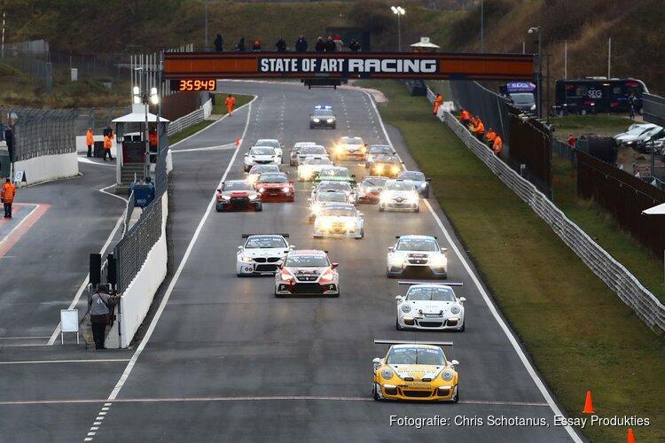 Van Riet en De Borst winnen spectaculaire RECO Nieuwjaarsrace op Circuit Zandvoort