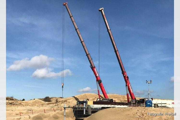 Geen treinen Zandvoort - Haarlem door bouw natuurbrug