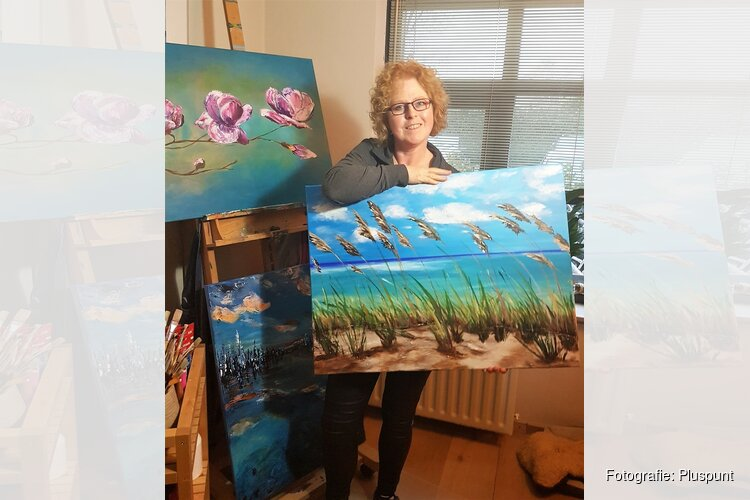 Monique van Hoorn exposeert in Pluspunt
