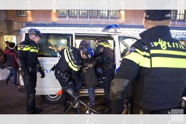 Agenten uitgescholden in Zandvoort