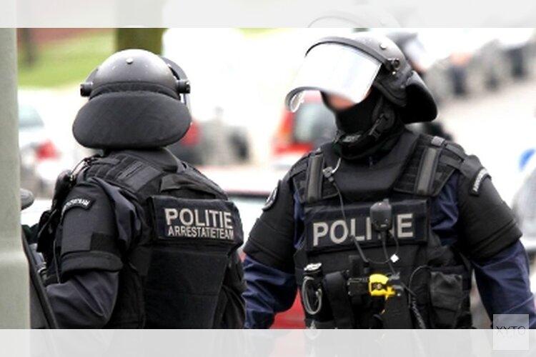 Man door arrestatieteam aangehouden