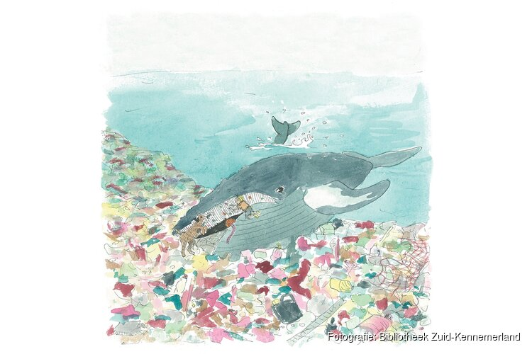 Oceanen van Plastic; inspiratiesessie tijdens Open ochtend in de bibliotheek