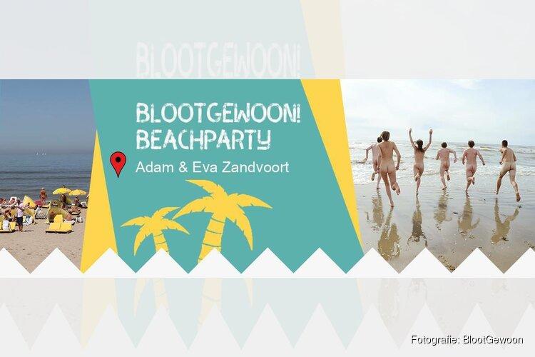 De allereerste BlootGewoon! Beachparty