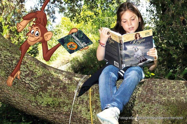 Met vijf boeken in je rugzak hoef jij je niet te vervelen