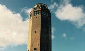 Verloederde Watertoren Zandvoort gekraakt