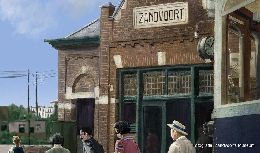 Tentoonstelling 'We Gaan Naar Zandvoort!'; een digitale reis van verleden naar heden'