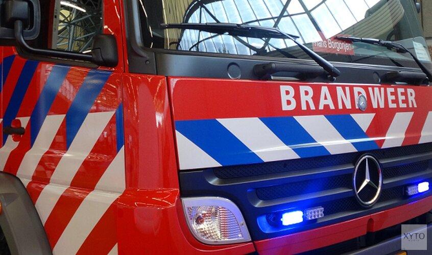 Schade na brandende scootmobiel in Zandvoortse flat