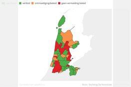 Meer dan de helft van de gemeenten verbiedt of ontmoedigt ballonoplatingen