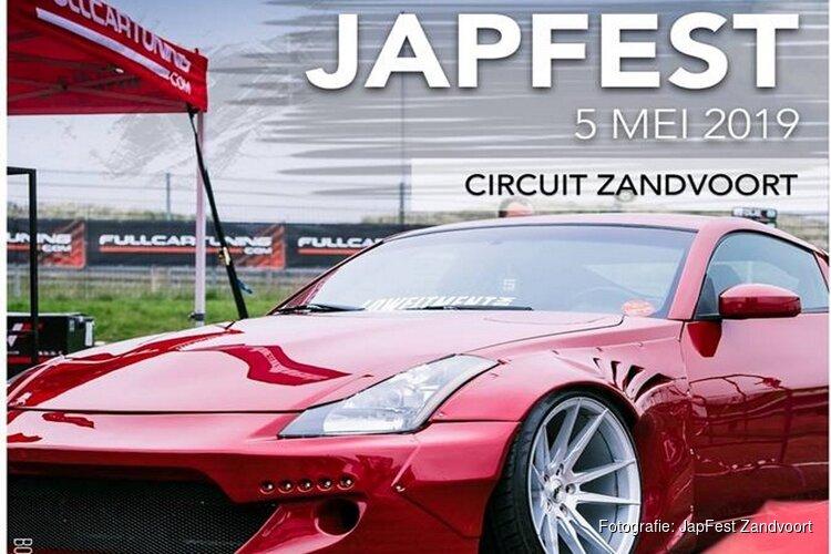 JapFest op 5 mei op Circuit Zandvoort