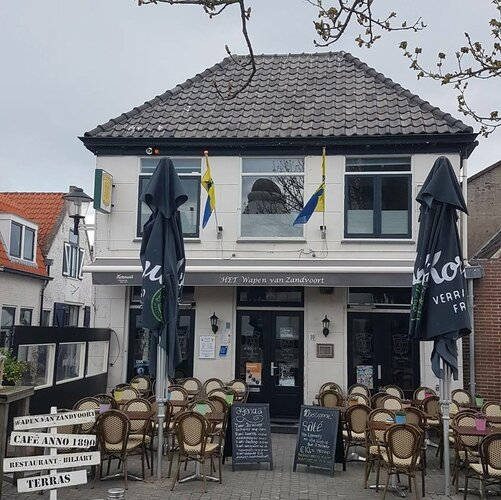 't Wapen van Zandvoort anno 1890