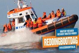 Komende zaterdag Reddingbootdag