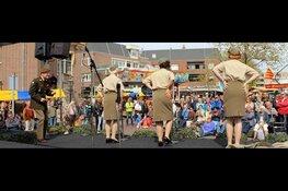 De markt Zandvoort komt er weer aan