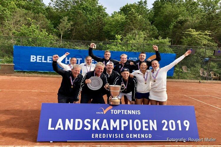 Lexence Zandvoort voor tweede keer op rij landskampioen Eredivisie