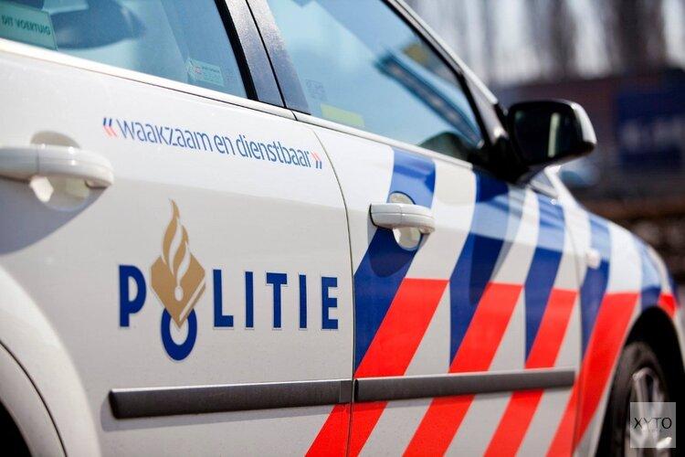 Scooter botst met busje in Zandvoort