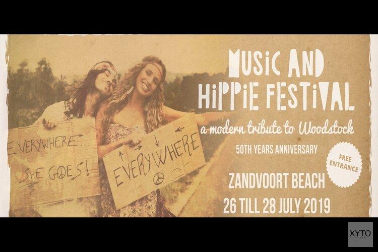 Music and Hippie Festival aan de boulevard van Zandvoort - 3 days of peace, love and music