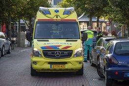 Fietser botst op auto op de Grote Krocht in Zandvoort