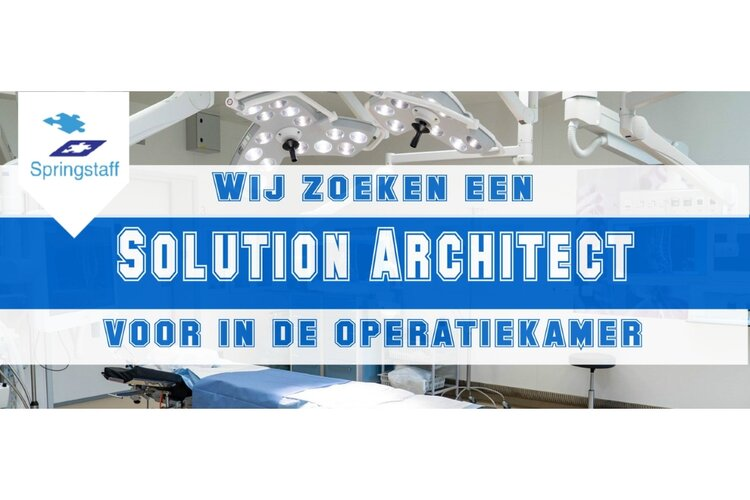 Solution architect Den-Haag full-time