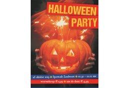 Halloween party bij het Sportcafé
