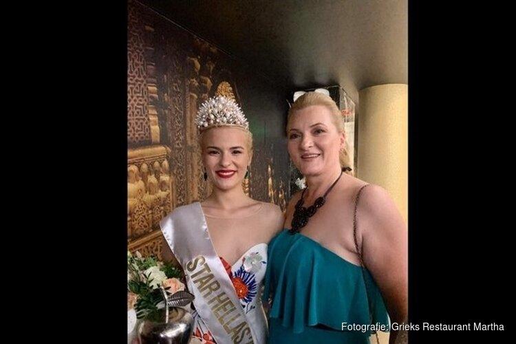 Zandvoortse Rafaela is al Miss Griekenland en gaat zaterdag voor Miss World 2019