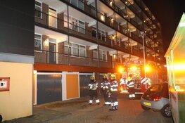 'Brandje in flatwoning door vuurwerk'