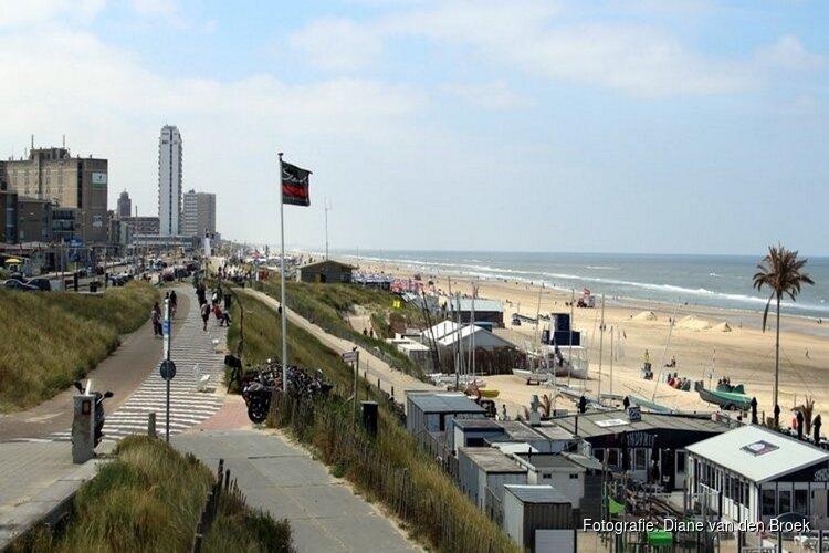 Zandvoortse strandpaviljoenhouders bezorgd over enorme fietsenstallingen F1