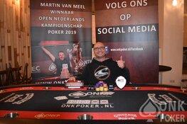 Marco Borst is Pokerkampioen van Zandvoort