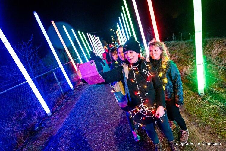 Circuit Zandvoort, spectaculaire acts en enthousiaste deelnemers maken van Zandvoort Light Walk groot succes