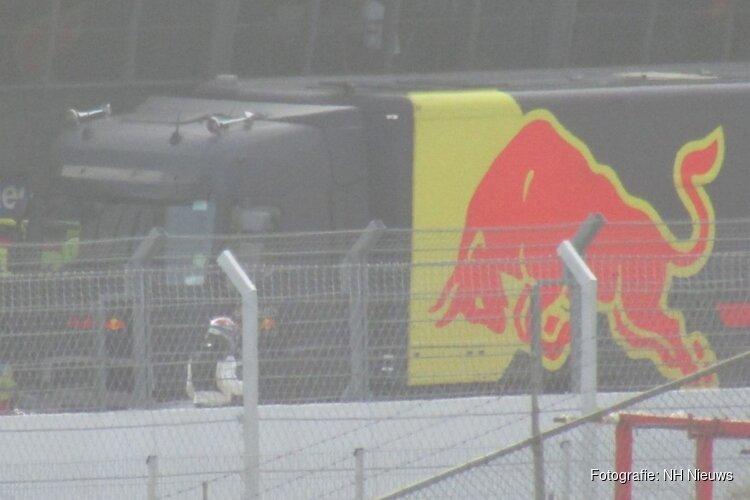 Max Verstappen en team gesignaleerd op circuit Zandvoort
