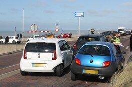 Blikschade bij aanrijding op Boulevard in Zandvoort