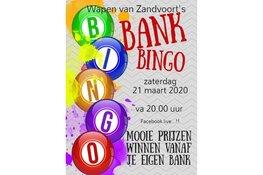 Nood maakt inventief: Wapen van Zandvoort organiseert Bankbingo