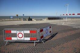 Parkeerterreinen stranden Zandvoort en Bloemendaal afgesloten
