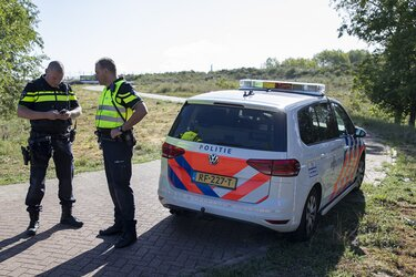 Man met steekwond aangetroffen langs de Zandvoortselaan