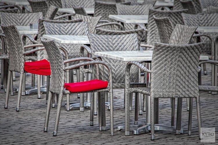 Zandvoortse Haltestraat blijft afgesloten voor uitbreiding terrassen, maar minder lang