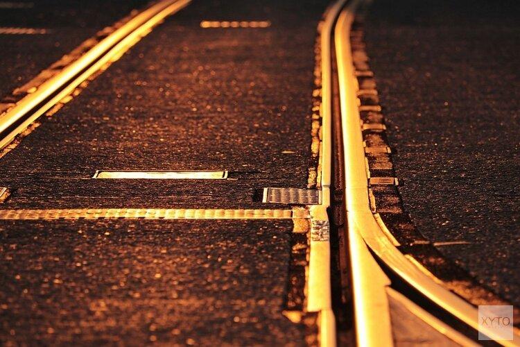 Werkzaamheden aan het spoor in Zandvoort